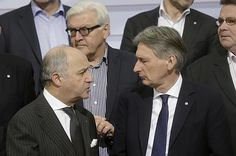 European foreign ministers urged the Iranian regime on Monday to stand by the framework nuclear deal reached in April or risk scuttling a historic final agreement. U.K. Foreign Secretary Philip Hammond called on Tehran to show greater flexibility...