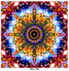 ❤⊰❁⊱ Mandala ⊰❁⊱ Heart chakra by alpha101omega on DeviantArt