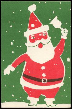 7d90816b22eea Santa Claus Christmas Card