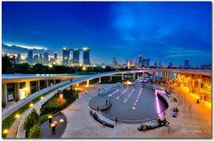 Singapore marina barrage - Singapore