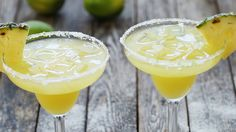 Watch How to Make Skinny Pineapple Margaritas with No Added Sugar in the EatingWell Video