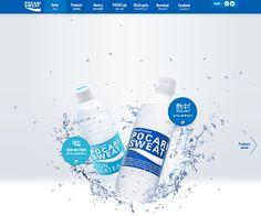 PC Webデザイン ポカリスエット公式サイト|大塚製薬