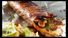 Truite figues-miel-noix et salade de pommes de terre | Recettes | Signé M | Émission TVA