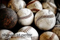 This listing is for One print. I found these old baseballs and just saw some great textures and memories. I wonder whod played with them and all the stories they could tell... Please select either photo or canvas as well as the size youd like from the drop down menu as you place it in your cart. Danny Collins, Baseball First, Baseball Stuff, Baseball Videos, Baseball Pictures, Baseball Cap, Baseball Wall Art, Baseball Nursery, Professional Photo Lab