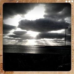 Exmouth, Devon Exeter, Devon, Journey, Ocean, Clouds, Sunset, Nice, Places, Outdoor