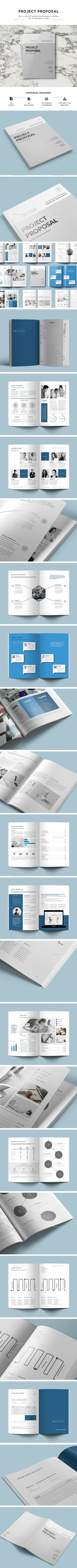 Clean Proposal Template InDesign INDD. Download here: http://graphicriver.net/item/clean-proposal/16217154?ref=ksioks