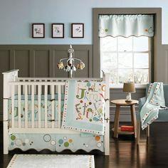 MiGi ABC 3-Piece Crib Bedding Set
