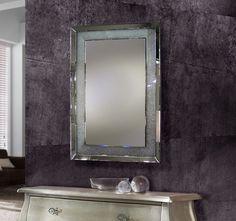 Espejos Originales de Cristal : Modelo ABRIL Large Mirrors For Sale, Large Round Mirror, Small Mirrors, Round Wall Mirror, Floor Mirror, Round Mirrors, Ornate Mirror, Wood Framed Mirror, Beveled Mirror