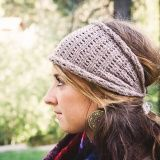 THE PATTERN: No matter your destination—a day at the farmers market or a night out on the town—this head wrap will keep your ears warm without giving your hair that matted look. It can be worn in a variety of styles and is always a head-turner! This pattern has a lot of stretch so it can be...