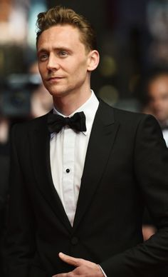 Tom Hiddleston. Really, really, ridiculously good looking.