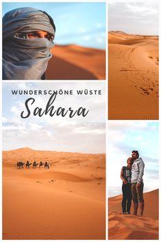 Was für eine Landschaft! Der Ausflug in die Sahara Wüste sollte auf jeden Fall auf deinem Programm stehen, wenn du eine Rundreise durch Marokko machst. Alle Tipps und Infos dazu findest du auf unserem Blog! #marokko #rundreise #sahara #saharadeserttour #reisetipps