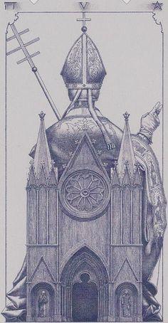 The Hierophant - Tarot of the III Millennium