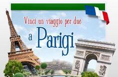 Concorso Vinci un viaggio per due a Parigi