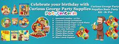 Buy Curious George Party Supplies Only At Partycenter.in