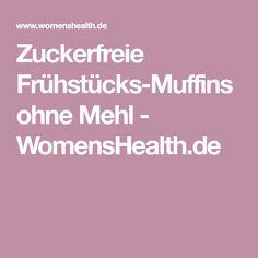 Zuckerfreie Frühstücks-Muffins ohne Mehl - WomensHealth.de