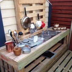 The finished outdoor sandpit kitchen... katehyland80 photo | PhotosJoy