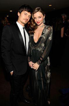 Orlando Bloom and Miranda Kerr in Valentino - Red Carpet Photos from Oscar 2013 Parties - Harper's BAZAAR#slide-22