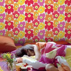 Marimekko, Kartell, Decoration, Bedroom, Color, Duvet, Slipcovers, Decor, Colour
