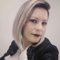 Lime Crime wicked ... Blonde short hair ... Tania por Tania.