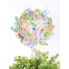 Magiczne drzewko DIY  #mojebambino  http://www.mojebambino.pl/wielkanoc/220-zestaw-papierow-z-motylkiem.html