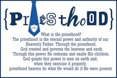 Autumn-Bennett: What Is the Priesthood/What are the duties of Priesthood holders?