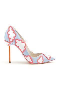 I don't even wear heels, but me likey. Sophia Webster Spring 2014