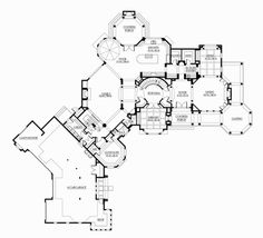 Luxury House Plans, Dream House Plans, House Floor Plans, Luxury Houses, Pool House Designs, Colour Story, Mountain House Plans, Garage Interior, Craftsman Style House Plans