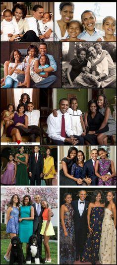 Royal Black Family! The Obamas!