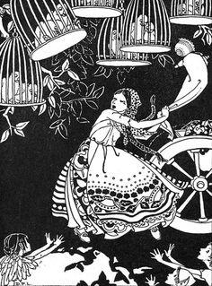 art, illustration,  //  Dorothy Lathrop