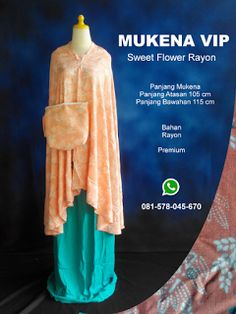 Mukena Vip Sweet Flower Rayon - Grosir Pesan Mukena katun jepang santung bordir batik bali murah anak
