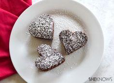 Chocolate Sweetheart Snack Cake (Budget-friendly)