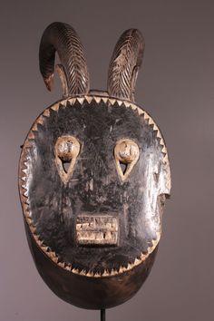 Masque : Afrique : Baoulé Goli.