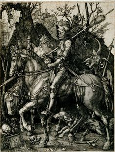 Share Tweet Pin Mail   By Elizabeth Garner Copyright January 2014  The print called Knight, Death and the Devil by art historians ...