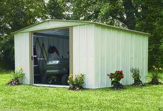 Arrow Metal Shed10u0027 x 10u0027 Backyard/Garden Shed Kit Outdoor & 18 best Backyard Storage Solutions images on Pinterest | Backyard ...