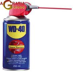 LUBRIFICANTI WD-40 SPRAY ML.250 WD40 https://www.chiaradecaria.it/it/spray-lubrificanti/10223-lubrificanti-wd-40-spray-ml250-wd40-5032227394896.html
