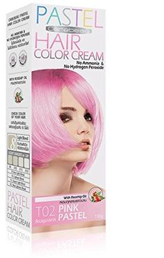 Premium PASTEL Hair Colour Cream Dye Goth Cosplay Emo Punk PINK ROSE- No Ammonia / Hydrogen ** Continue to the product at the image link.