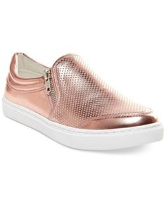 Steve Madden Ellias Slip-On Sneaker synthetic rose gold, white sz7.5 69.00 4/16