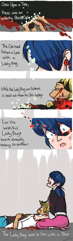 Miraculous Ladybug-- Ladynoir feels. Rip out my heart why don't you :'(