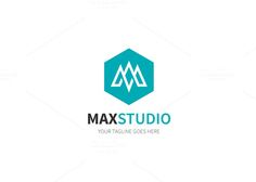 Max Studio Logo by XpertgraphicD on @creativemarket