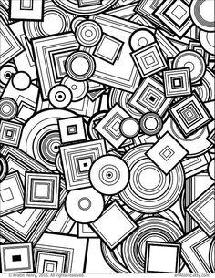Ideas Mandala Art Therapy Ideas Adult Coloring Pages Geometric Coloring Pages, Pattern Coloring Pages, Adult Coloring Book Pages, Printable Adult Coloring Pages, Coloring Sheets, Coloring Books, Mandala Coloring, Colouring Pages For Adults, Doodle Art Drawing