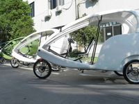 High Quality Family Use 3 Wheel Electric Tricycle Taxi Bike