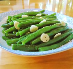 One Perfect Bite: Garlic Green Beans