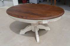 Refurbished Wood Coffee Table by GiffordDesign on Etsy, $75.00