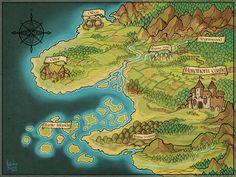 Fantasy Map, Fantasy World, 12 Image, Art Club, Sci Fi Art, Community Art, Dungeons And Dragons, Something To Do, City Photo