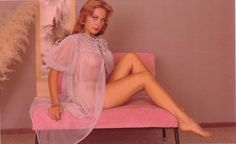 vintagecharmingbeauties:  Teddi Smith: Miss July 1960.