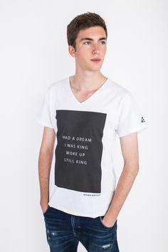 Mens Printed T-Shirts – King's T-shirt – a unique product on DaWanda.com