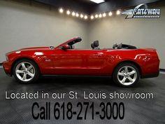 2012 Ford Mustang GT Premium Convertible - Stock #5548-STL