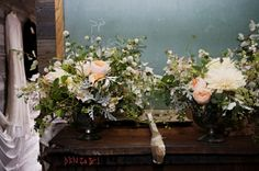 flowers by Saipua, from The Makers. Beautiful arrangements