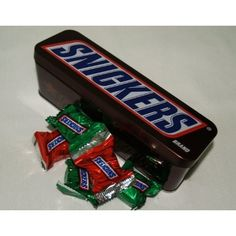 Snickers Candy Bar Tin - Minatures
