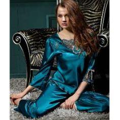 Conjunto Pijama en Seda Egipcio